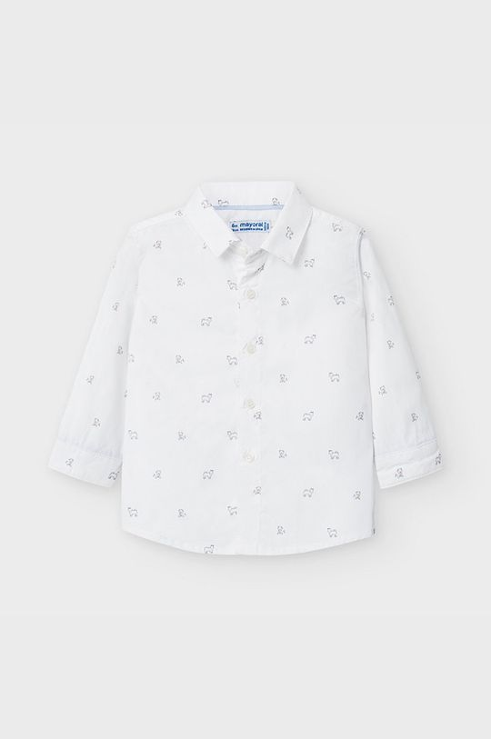 biały Mayoral - Koszula dziecięca 68-98 cm Chłopięcy