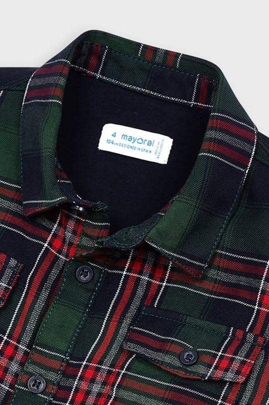 tmavozelená Mayoral - Detská košeľa 104-134 cm