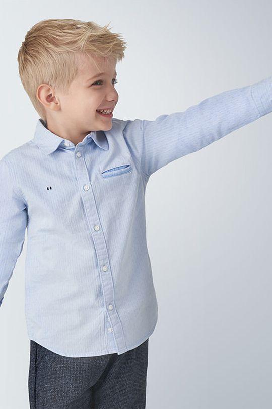 svetlomodrá Mayoral - Detská košeľa 98-134 cm Chlapčenský