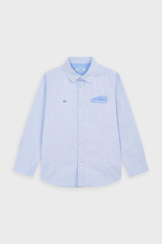 Mayoral - Detská košeľa 98-134 cm svetlomodrá