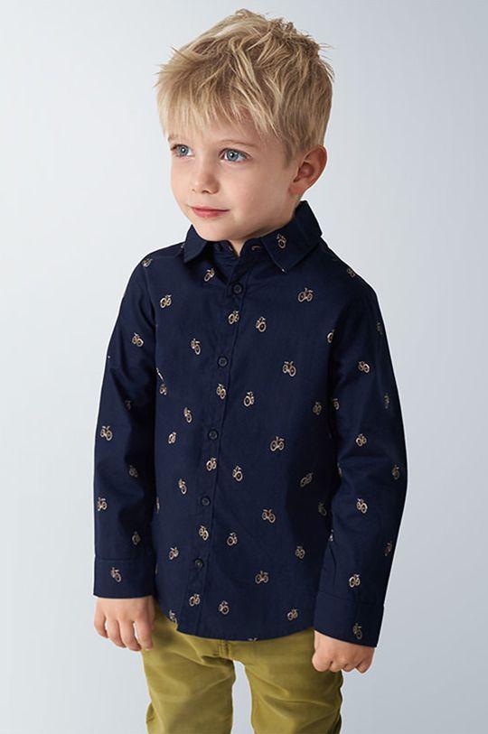 niebieski Mayoral - Koszula dziecięca 98-134 cm Chłopięcy