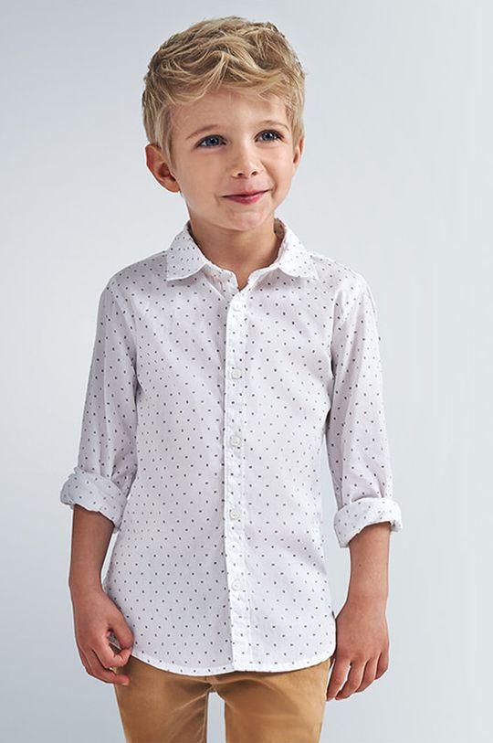biały Mayoral - Koszula dziecięca 98-134 cm Chłopięcy