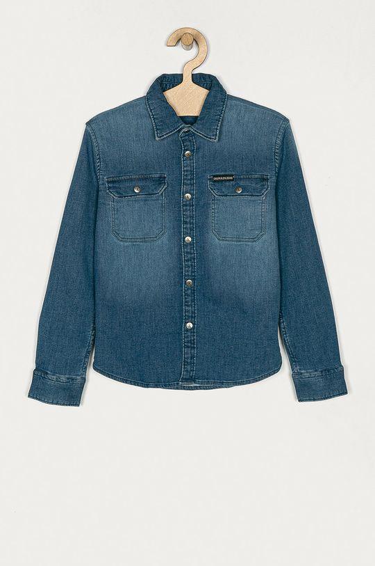 niebieski Calvin Klein Jeans - Koszula dziecięca 128-176 cm Chłopięcy