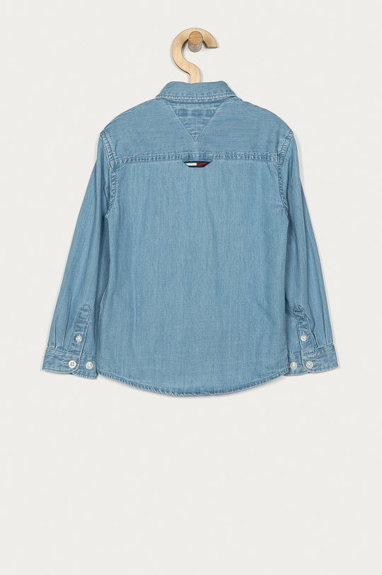 Tommy Hilfiger - Camasa de bumbac pentru copii 128-176 cm albastru deschis