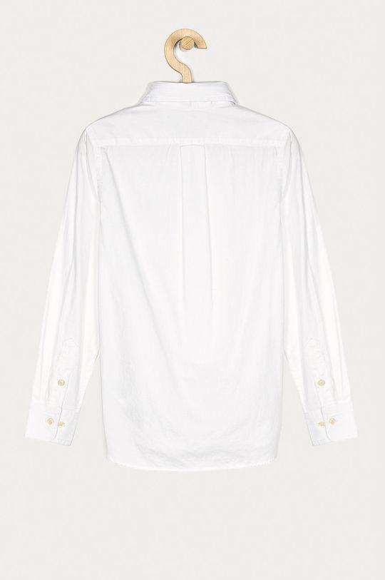 Polo Ralph Lauren - Koszula bawełniana dziecięca 134-176 cm biały