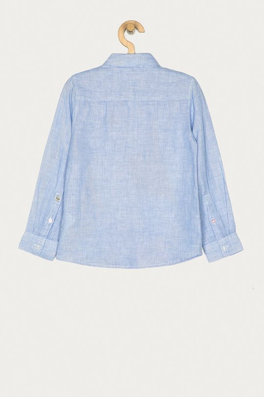 Pepe Jeans - Camasa copii Theo 128-176 cm albastru