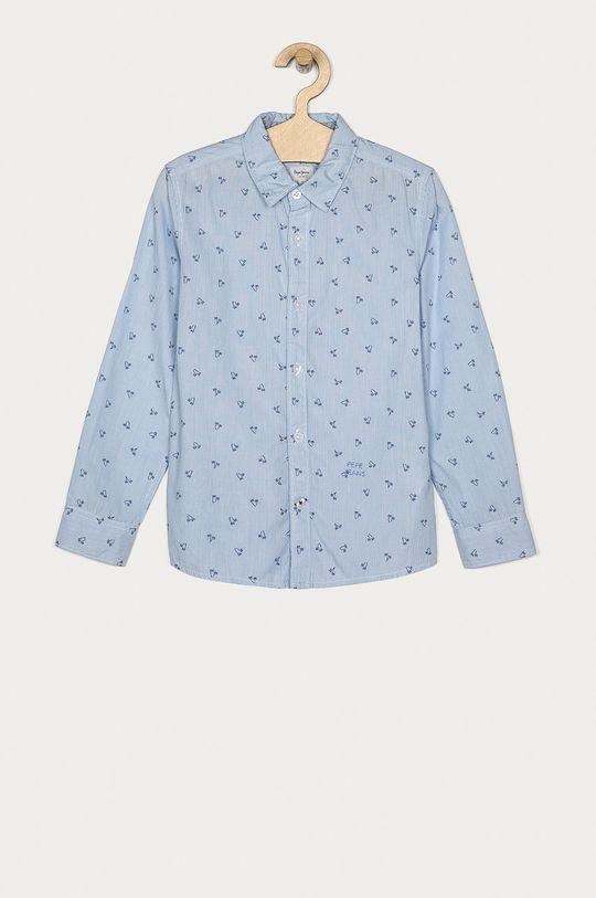 niebieski Pepe Jeans - Koszula dziecięca Steve 128-176 cm Chłopięcy