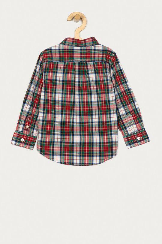 GAP - Koszula bawełniana dziecięca 74-11- cm brudny zielony