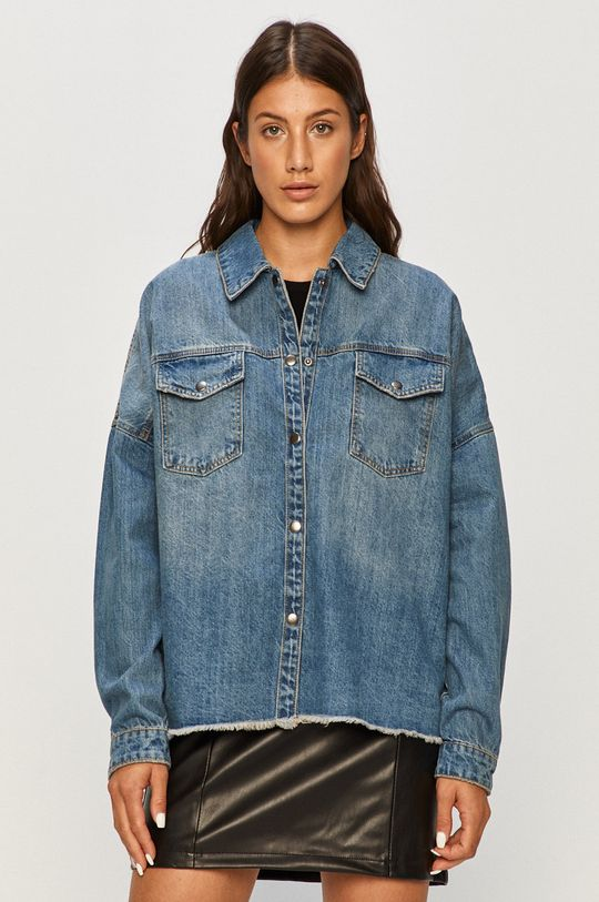 niebieski Vero Moda - Koszula jeansowa Damski