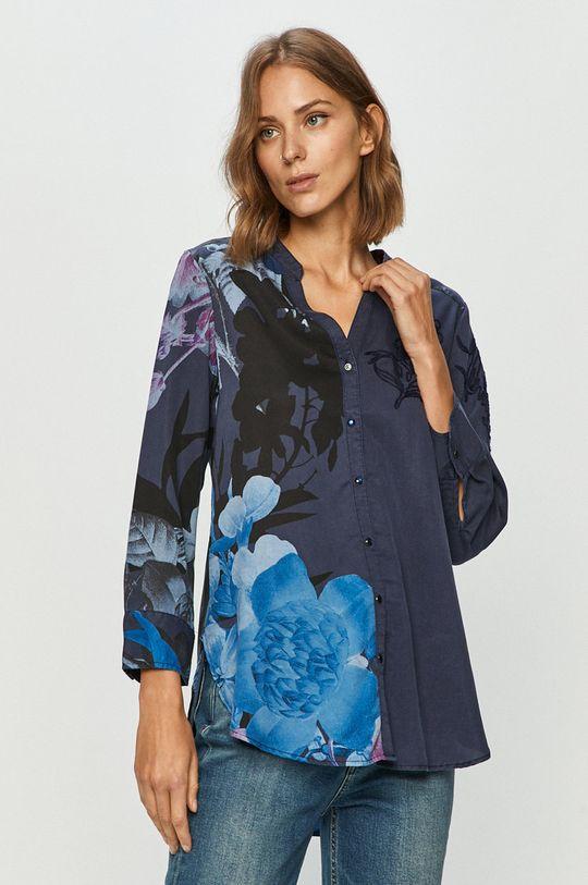 albastru Desigual - Camasa De femei