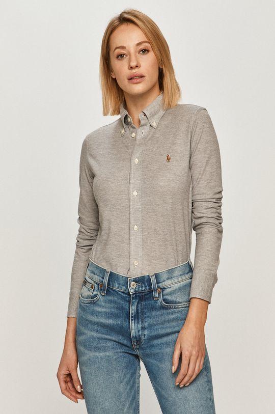 sivá Polo Ralph Lauren - Bavlnená košeľa Dámsky