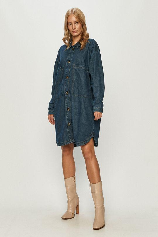Jacqueline de Yong - Rifľové šaty  62% Bavlna, 20% Polyester, 18% Viskóza