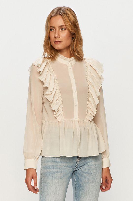 kremowy Vero Moda - Koszula Damski