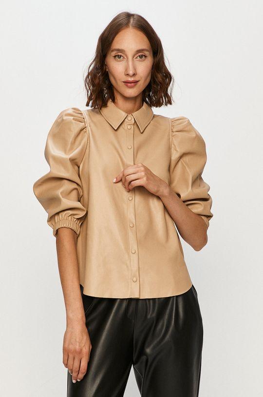 piaskowy Vero Moda - Koszula Damski