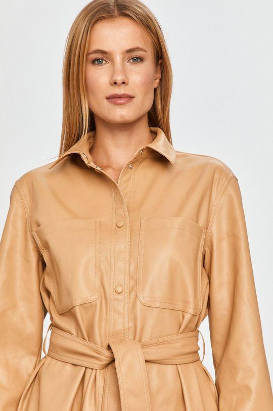 kawowy Vero Moda - Koszula Damski