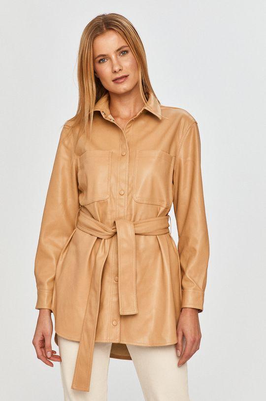 kawowy Vero Moda - Koszula