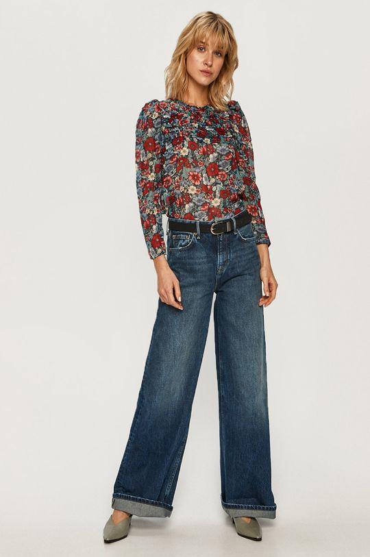 Pepe Jeans - Bluzka Loren 97 % Poliester, 3 % Włókno metaliczne