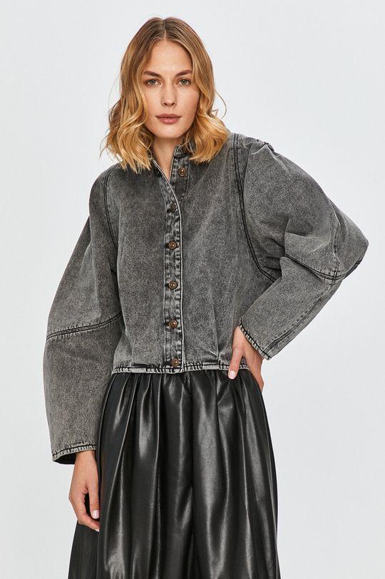 čierna Miss Sixty - Rifľová bunda Dámsky