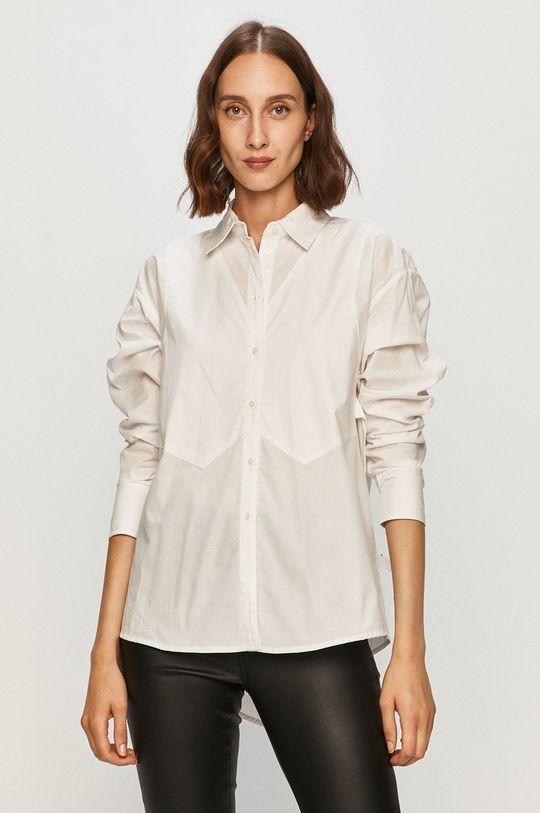 biały Armani Exchange - Koszula Damski
