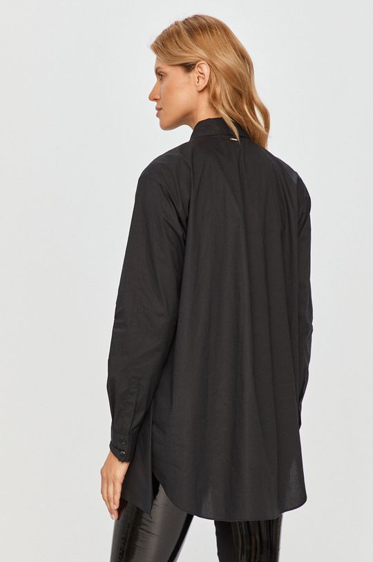 černá Silvian Heach - Bavlněné tričko