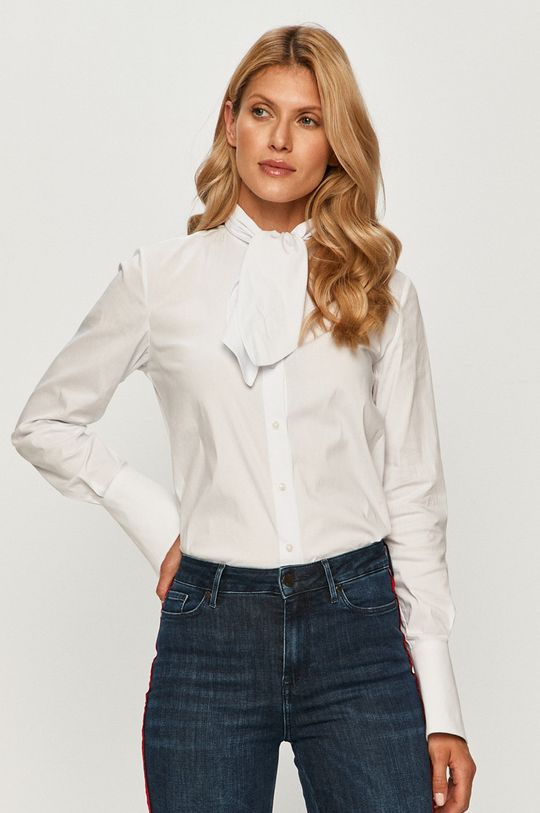 biela Trussardi Jeans - Košeľa Dámsky