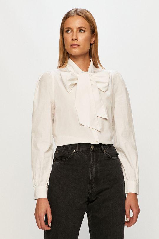 biela Only - Bavlnená košeľa Dámsky