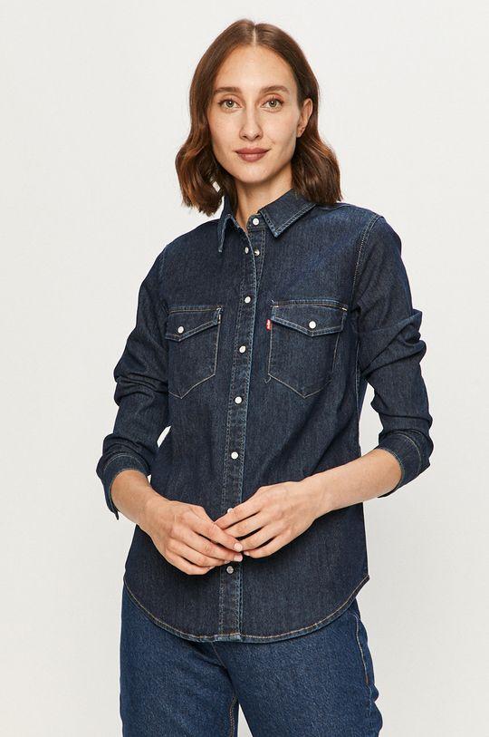 bleumarin Levi's - Camasa jeans De femei