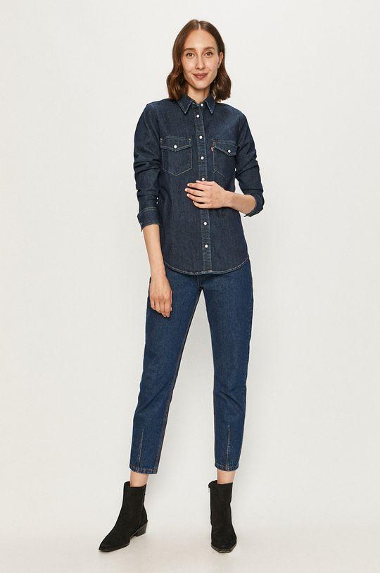 Levi's - Camasa jeans  68% Bumbac, 3% Elastan, 29% Poliester