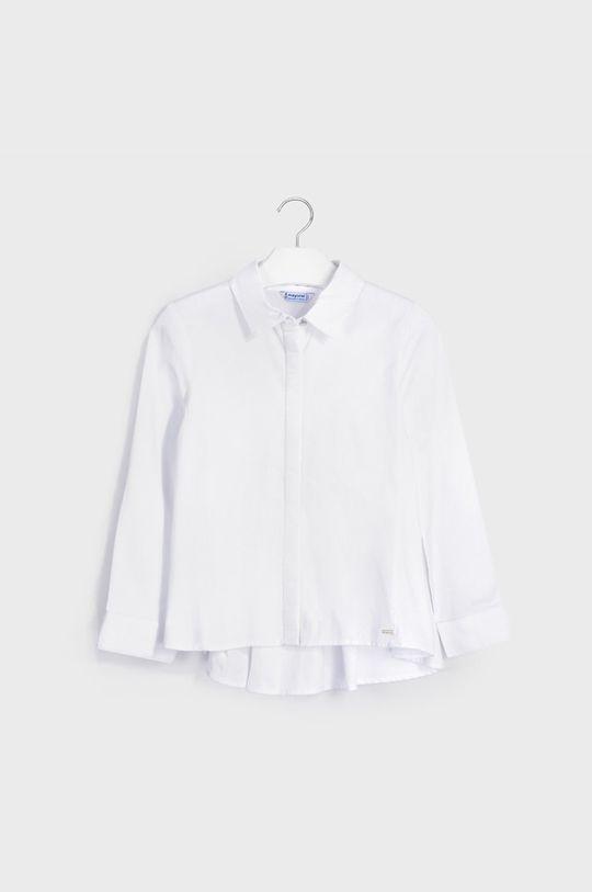 Mayoral - Koszula bawełniana dziecięca 140-167 cm kremowy