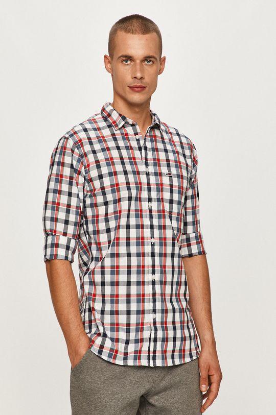 viacfarebná Tommy Jeans - Košeľa Pánsky