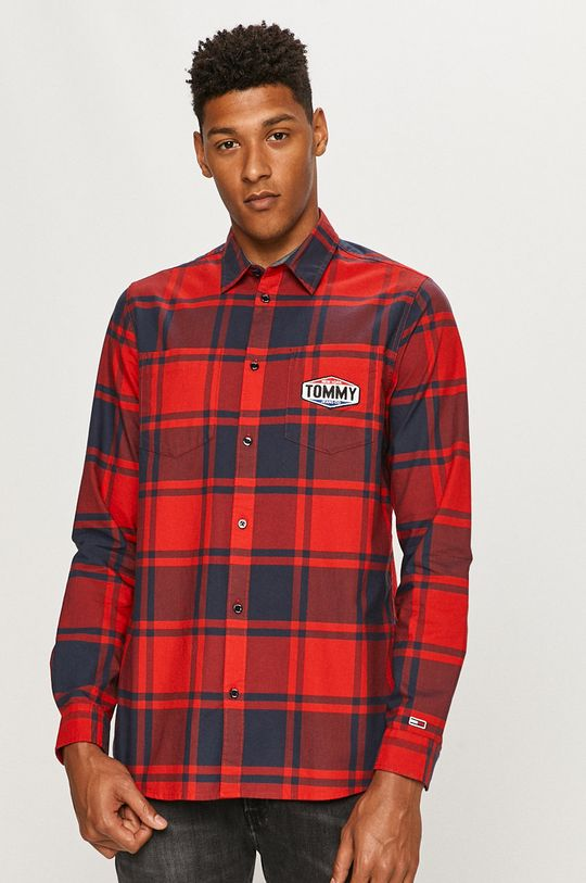 vícebarevná Tommy Jeans - Košile Pánský