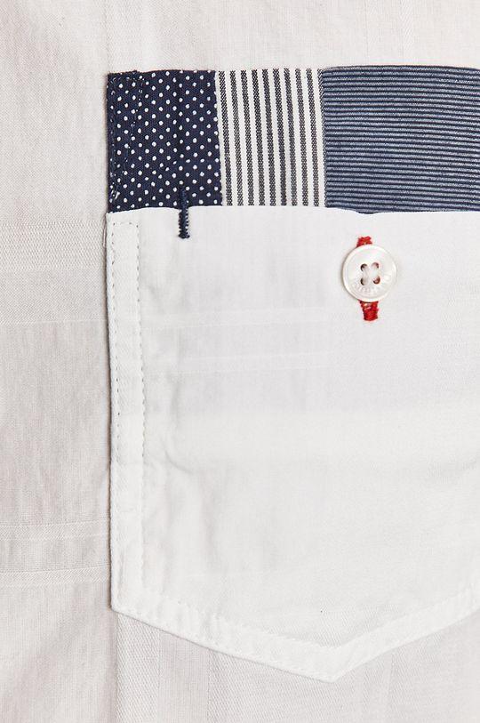 Desigual - Bavlněné tričko bílá