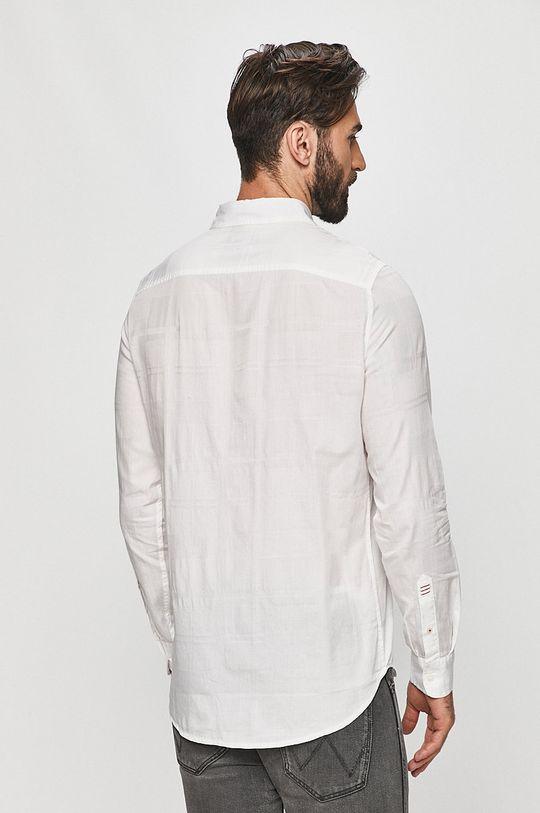 bílá Desigual - Bavlněné tričko