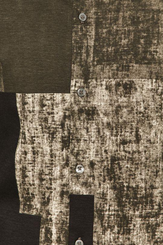 Desigual - Bavlněné tričko vícebarevná