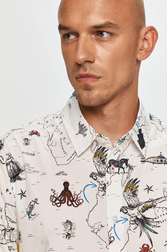Desigual - Bavlnená košeľa Pánsky