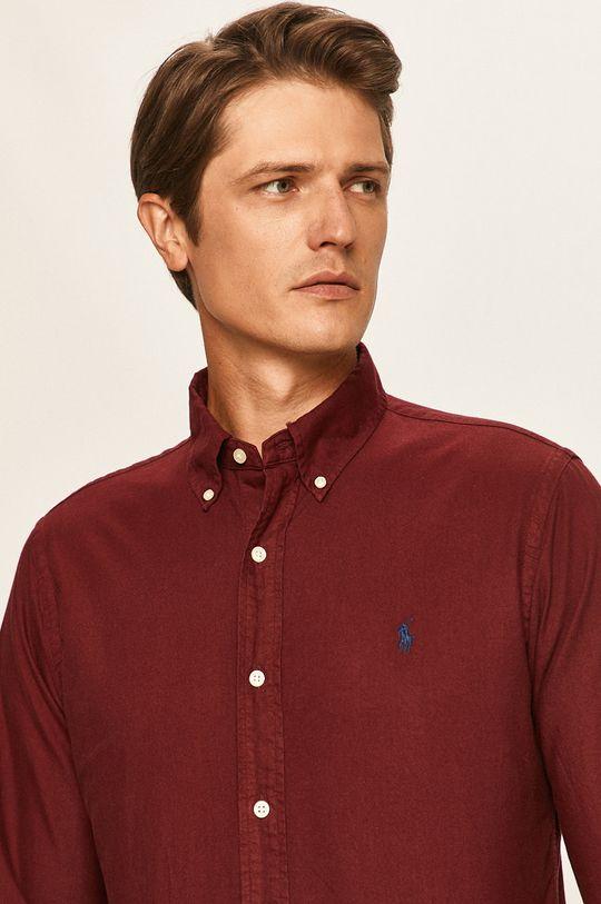 kaštanová Polo Ralph Lauren - Košile Pánský