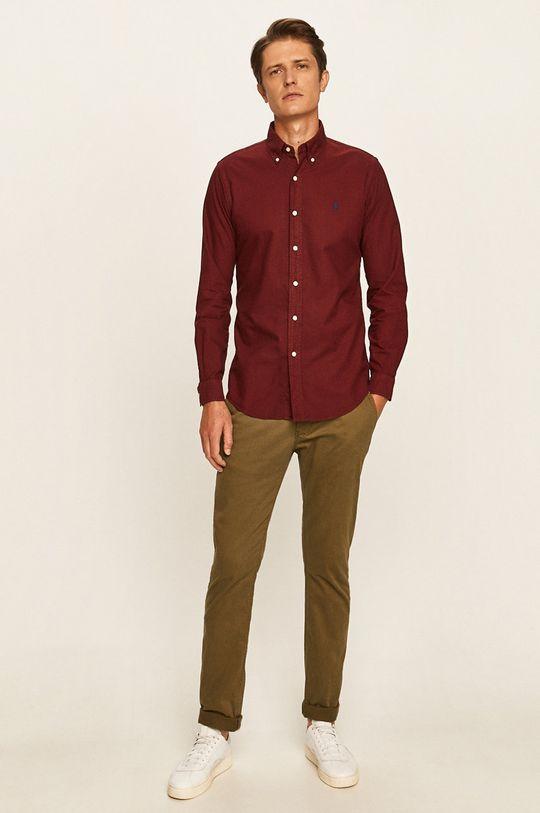 Polo Ralph Lauren - Košile kaštanová