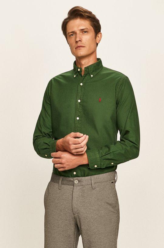 zelená Polo Ralph Lauren - Košeľa Pánsky