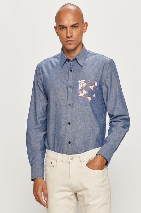 jasny niebieski Guess Jeans - Koszula Męski