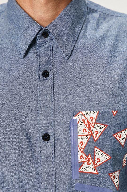 Guess Jeans - Koszula jasny niebieski