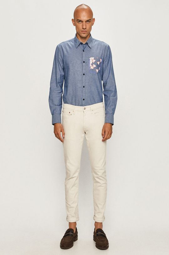 Guess Jeans - Koszula 97 % Bawełna, 3 % Elastan
