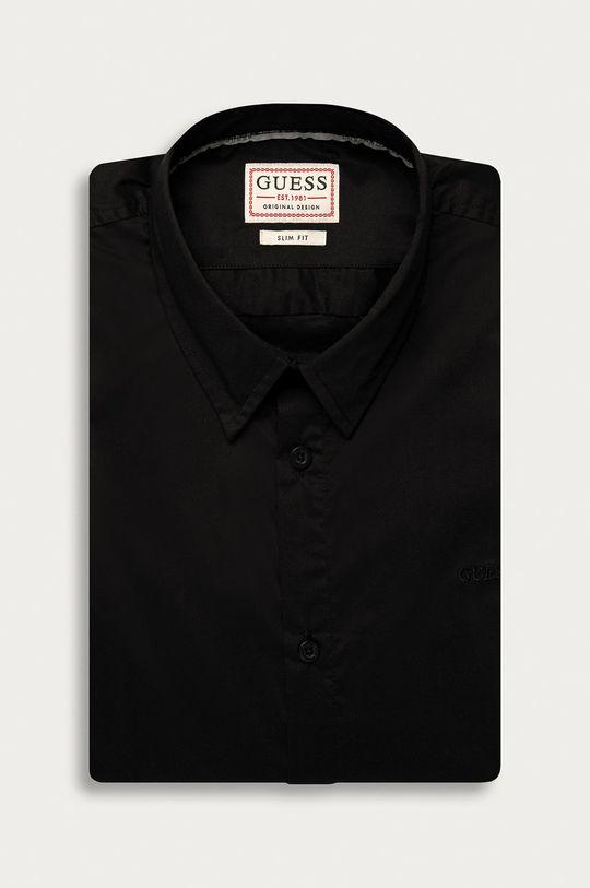 černá Guess Jeans - Košile Pánský