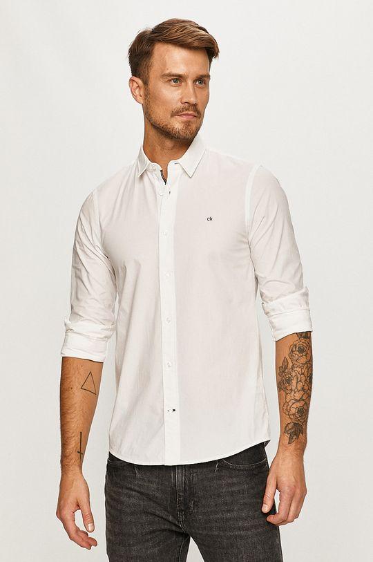 alb Calvin Klein - Camasa De bărbați