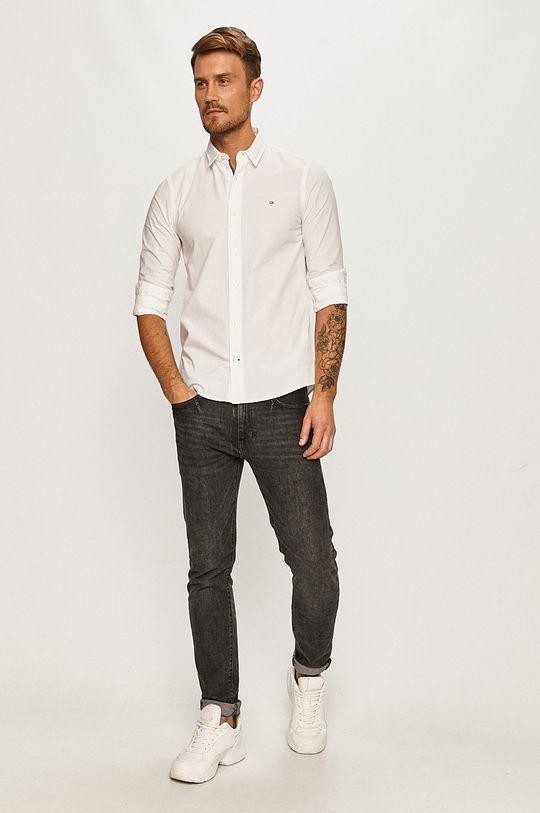 Calvin Klein - Camasa  96% Bumbac, 4% Elastan