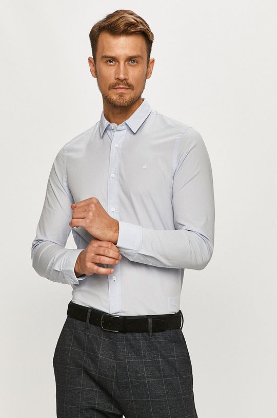 albastru pal Calvin Klein - Camasa De bărbați