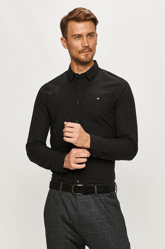 negru Calvin Klein - Camasa De bărbați