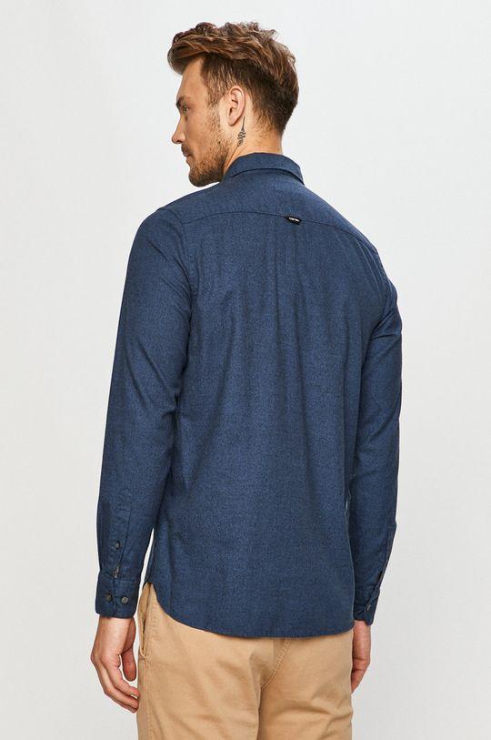 tmavomodrá Calvin Klein - Bavlnená košeľa