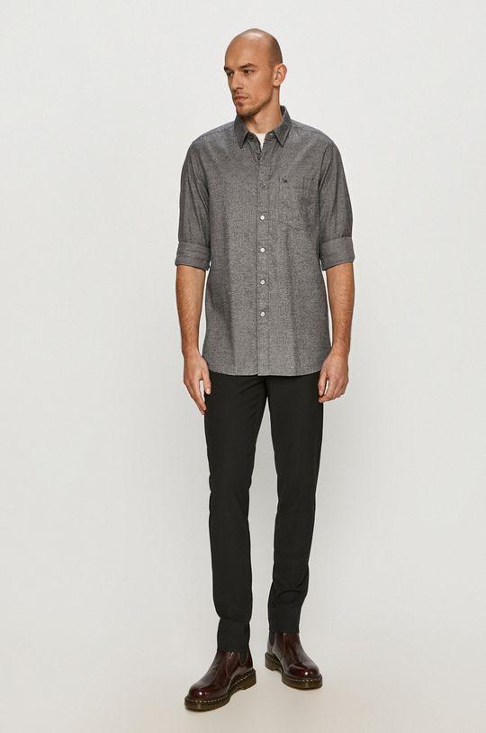 Calvin Klein - Koszula bawełniana 100 % Bawełna