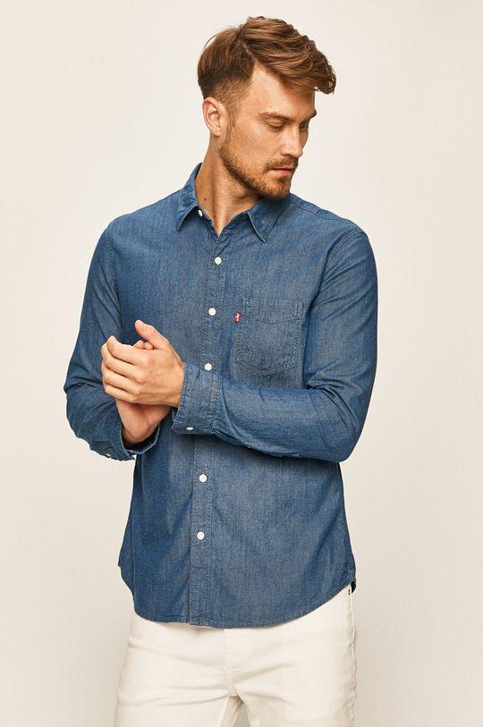 modrá Levi's - Džínová košile Pánský