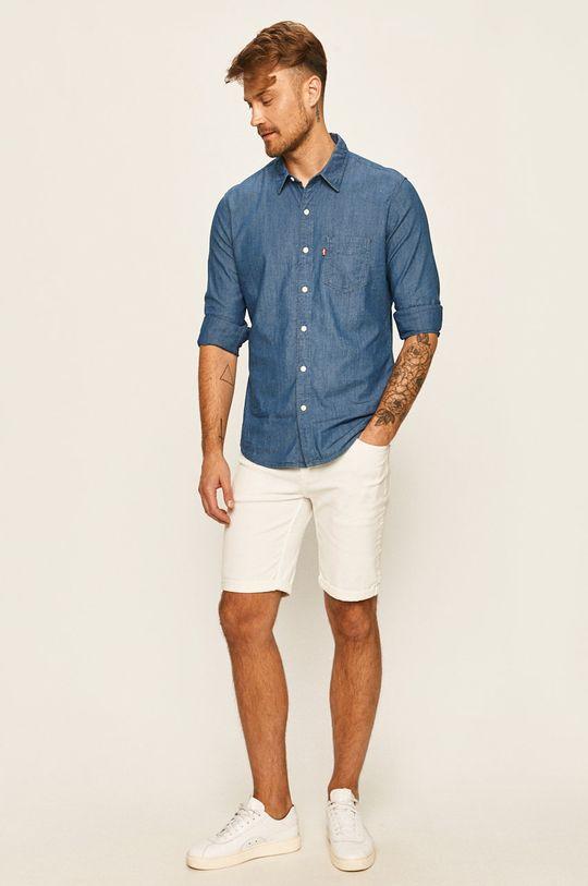 Levi's - Džínová košile  72% Bavlna, 7% Len, 21% Viskóza